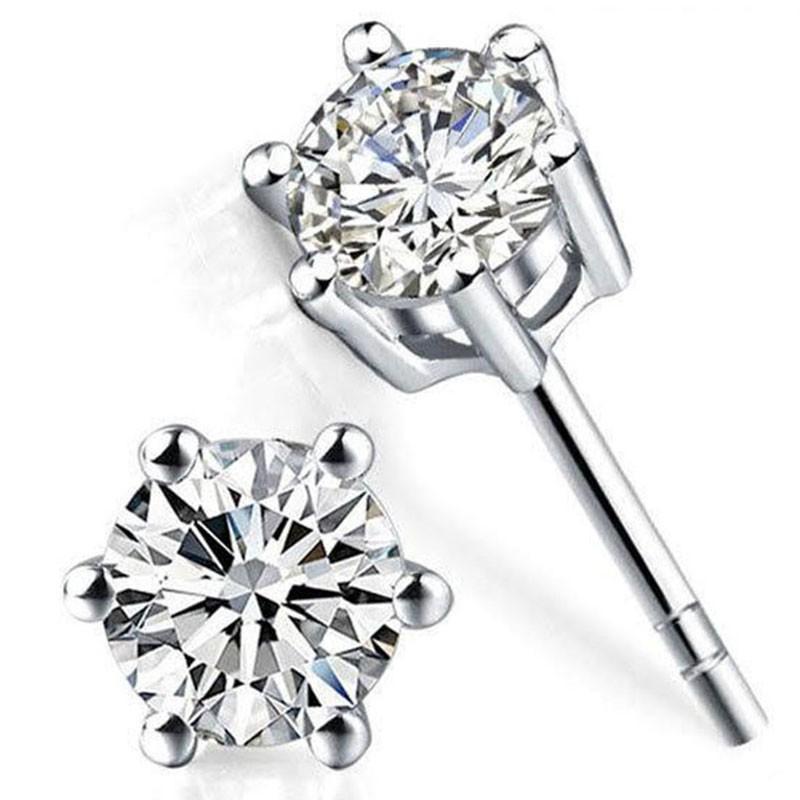 Tiaria 18K Shiney Gold Earring Perhiasan Anting Emas dan Batu Permata Topaz