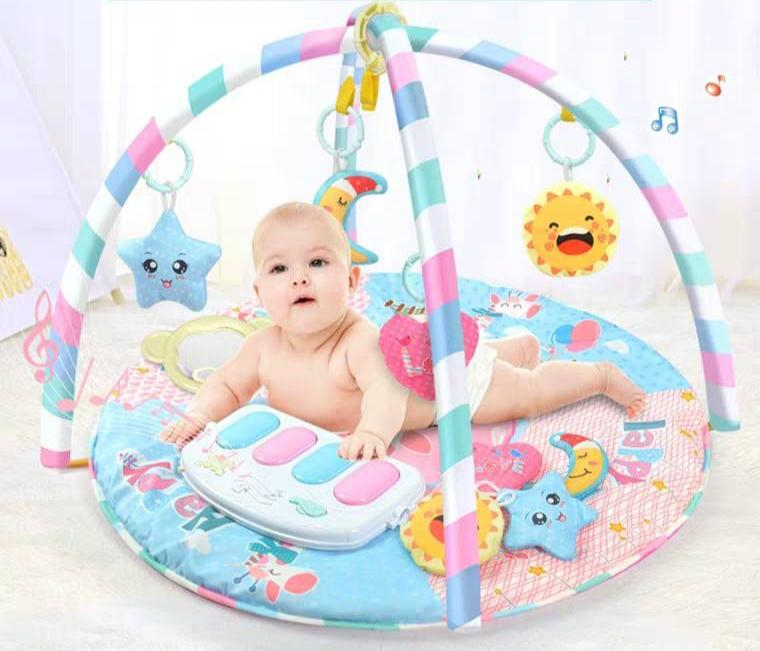 Circle Gym Playmat Piano Musical Multifunction. Circle Gym Playmat Piano Musical Multifunction. Rp170.