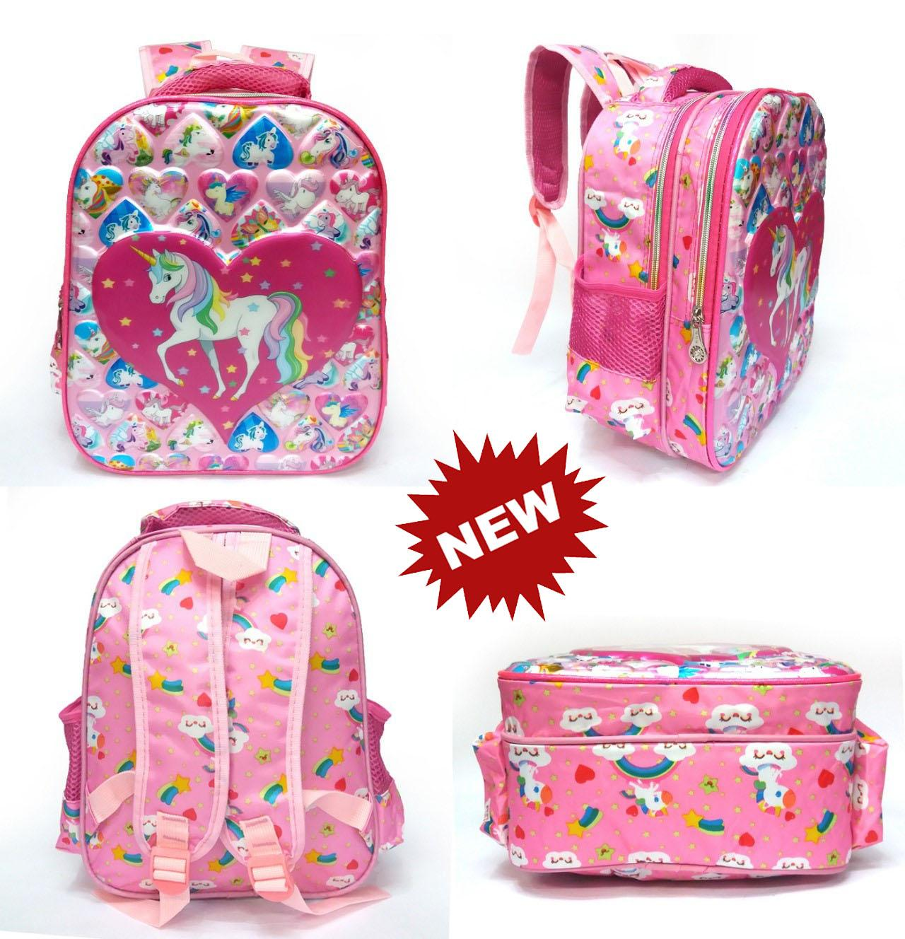 Onlan Ransel TERBAIK TERMURAH Tas Ransel Anak Sekolah TK - Little Pony - Frozen - LOL