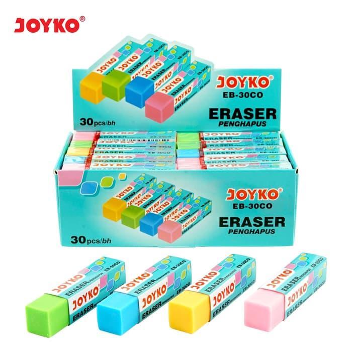Eraser / Penghapus Joyko EB-30CO / 1 BOX 30 PCS