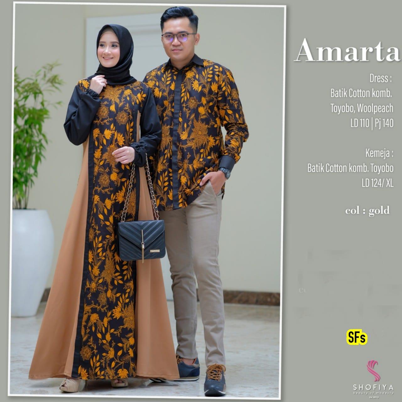 Kombinasi Polos Model Baju Gamis Batik Terbaru 2020 Hijabfest