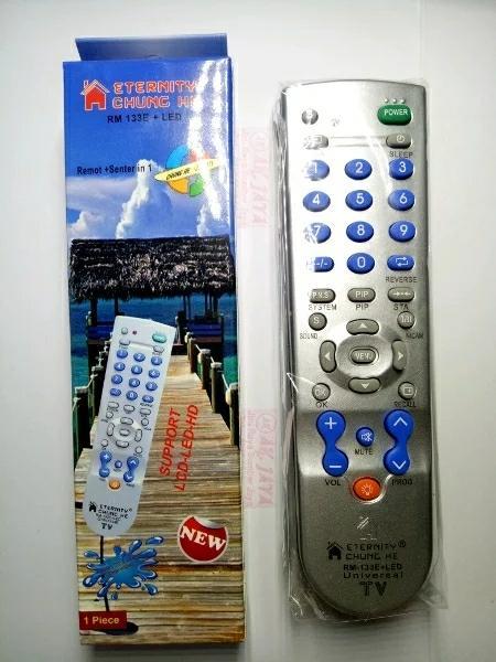 remote tv serba bisa - universal tv tabung led lcd remot control plus senter