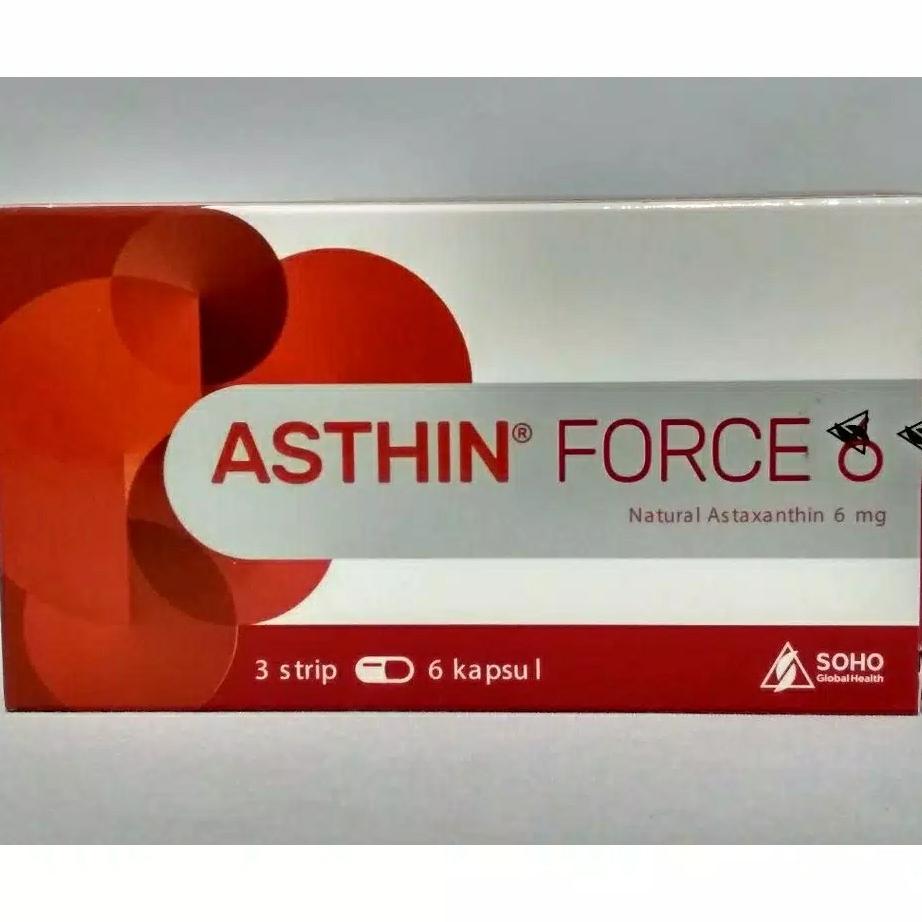 asthin force 6 perbox isi 18 kapsul