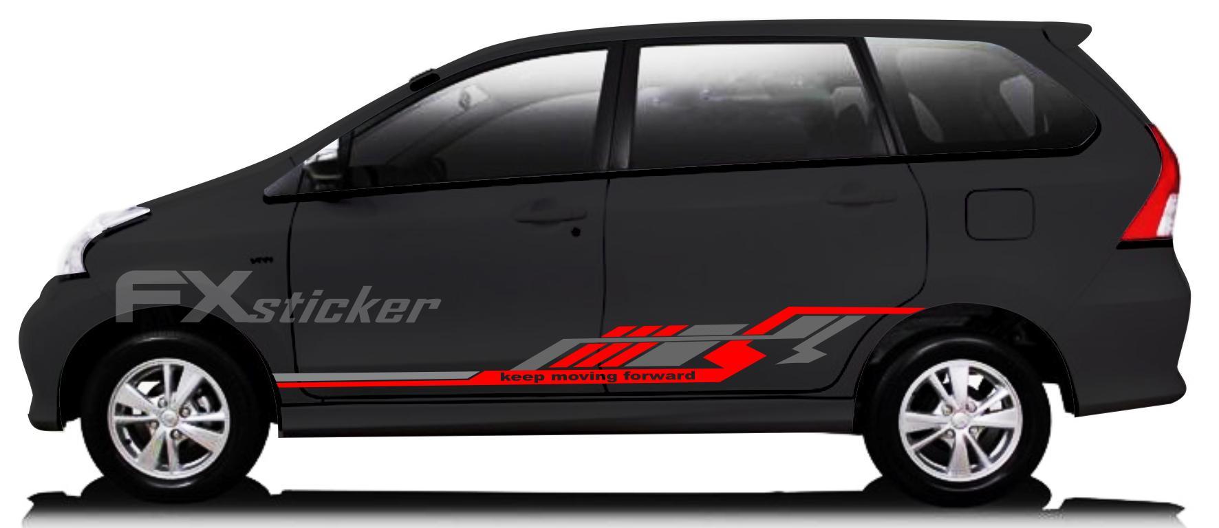 5600 Koleksi Modifikasi Stiker Mobil Xenia Hitam Gratis Terbaru