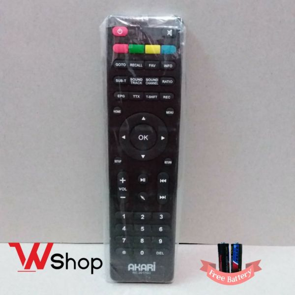 REMOT SET TOP BOX AKARI ORIGINAL