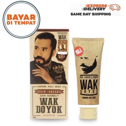 PROMO Wak Doyok Penumbuh Jambang dan Jenggot 75ml - Wak doyok asli - wak doyok original