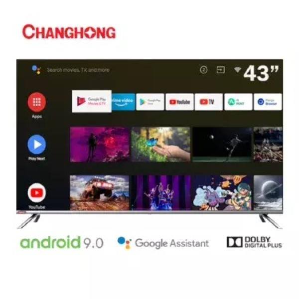Changhong L43H7 LED TV 43 inch Android TV - KHUSUS JABODETABEK