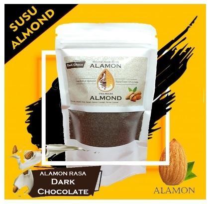 Pelancar Asi Susu Almond Alamond Milk Premium Asi Booster 170 gr Halal