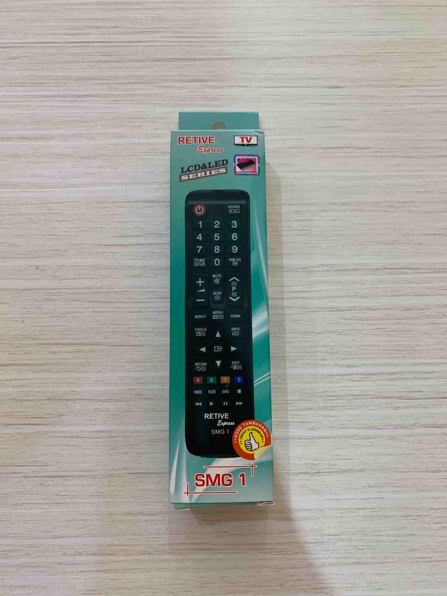 Remote TV multi LCD/LED