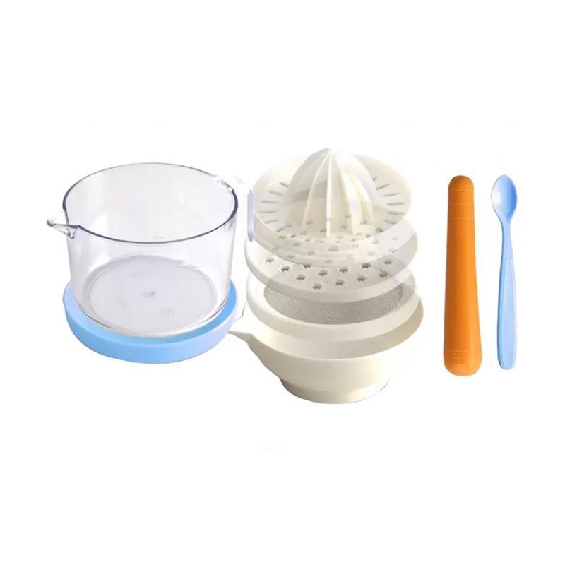 Lusty Bunny LB-1360 Baby Food Processor Biru - Alat Penghalus Makanan Bayi / Food Maker / Perlengkapan Bayi