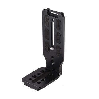 DSLR Camera L Bracket Quick Release Plate Vertical Universal L Bracket with 1 4 Inch Screw Arca Swiss for DSLR Camera thumbnail