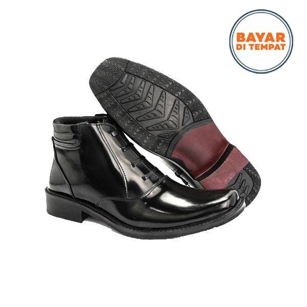 JAFERI Sepatu Formal PDH 03 Sintetis Warna Hitam Cocok Untuk Pergi Ke  Pesta fc6bd45ba5