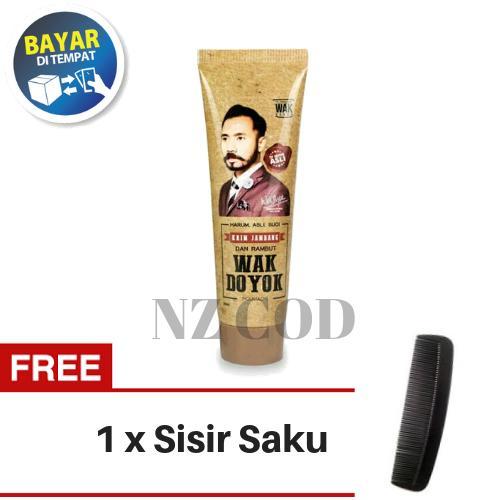 【Free Gift】 WAK DOYOK Cream 30ml Original Hologram - Wakdoyok Krim Penumbuh Jambang