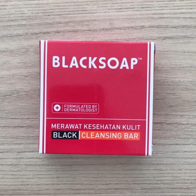 Blacksoap Black Cleansing Bar Sabun Combinasi Scabimite By Sehati Farma.