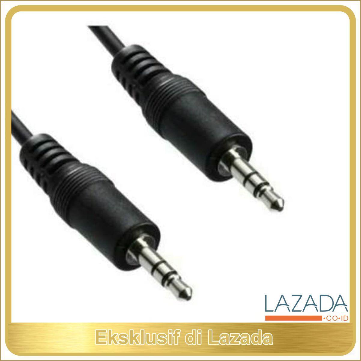 KABEL AUDIO HP KE TAPE MOBIL SPEAKER AUX JACK 3.5MM 35 IPHONE MURAH TERLARIS DI LAZADA