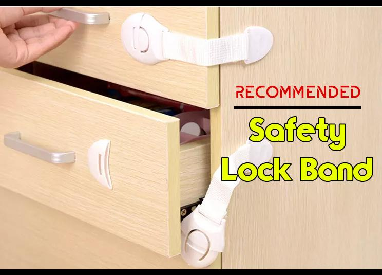 Safety Lock Band - Pelindung Bayi - Pengaman Laci Lemari Pintu Kulkas