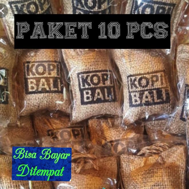 PAKET KOPI BALI GROSIR 10 PCS - PARFUM MOBIL