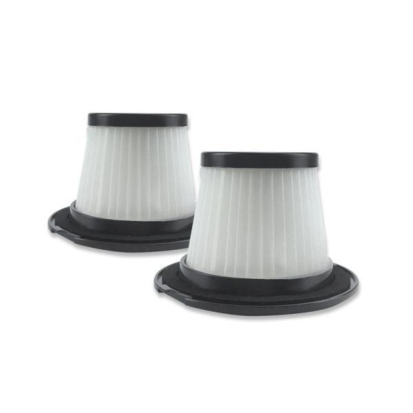 2PC Filter for Dibea T6 C17 T1 SC4588 600W 2-In-1 Upright Stick&Handheld Vacuum