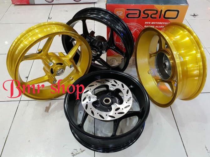 Promo      Velg racing aerox 155 merk axio uk 3.00-4.50/velg aerox 155 merk axio      Termurah