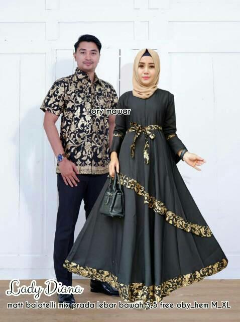TERMURAH - Baju batik couple - baju muslim wanita terbaru 2018 - kebaya  coupel Modern - abf5135b5c