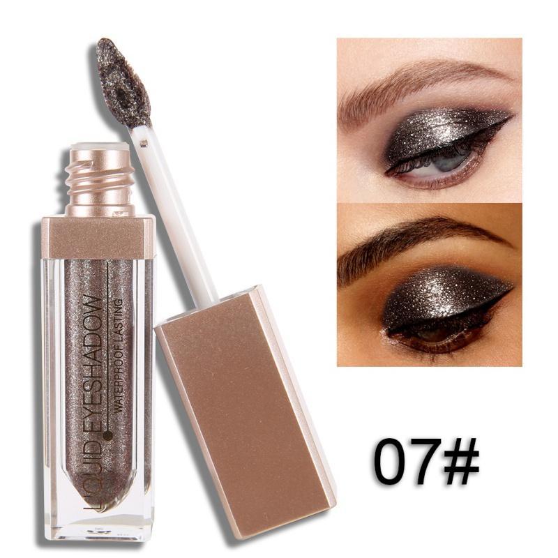Eyeshadow Cair Eye Shadow Liquid Shimmer Metallic Shiny Kosmetik