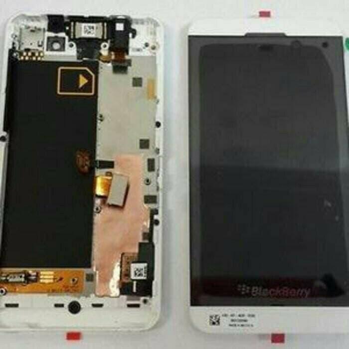 lcd touchscreen bb z10 3G + frame