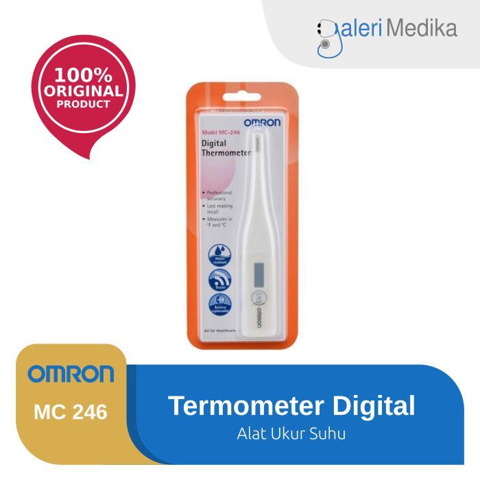 Omron Mc246 / Mc-246 / Mc 246 Termometer Digital Ketiak By Galeri Medika.