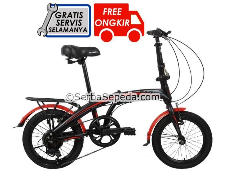 Exotic Sepeda Lipat Et 2026 Mx 16 By Ss Bike Shop.