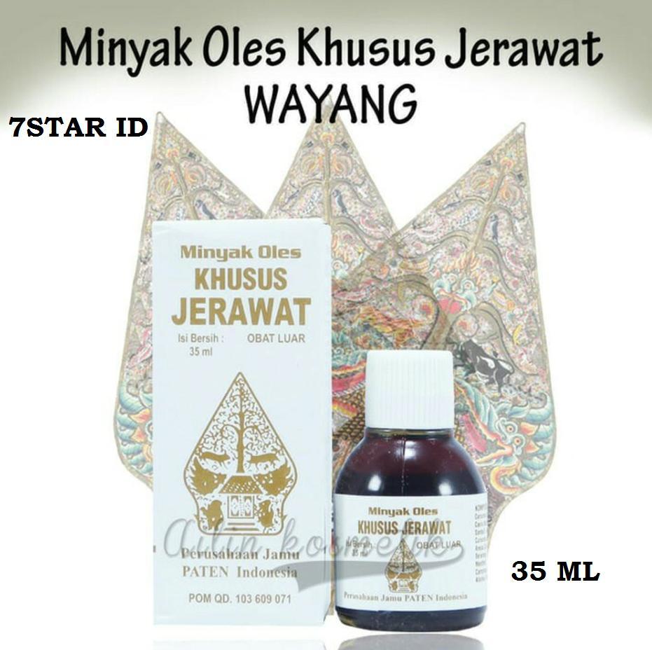 Wayang Obat Herbal 7star - Minyak Oles Khusus Jerawat Cap Wayang Obat Jerawat Dan Obat Bisul - 35ml By 7star Id.