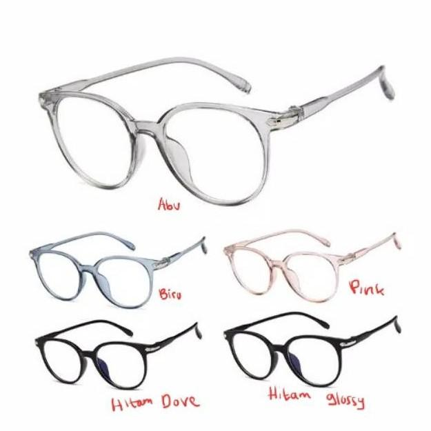 Kacamata Anti Radiasi Kacamata Korea Fashion Glasses Kmd38 By Pusat Grosir Aksesoris.