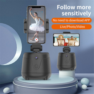 Jomoo hàng Mới Về Giá Thấp Gậy Selfie Thông Minh Xoay 360 Q2 Giá Đỡ Ba Chân Máy Ảnh Theo Dõi Đối Tượng Khuôn Mặt Tự Động Giá Đỡ Điện Thoại Chụp Thông Minh thumbnail