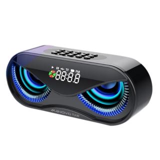 MANOVO M5 Wireless Bluetooth Speaker Subwoofer Outdoor Portable Small Radio Home Audio thumbnail