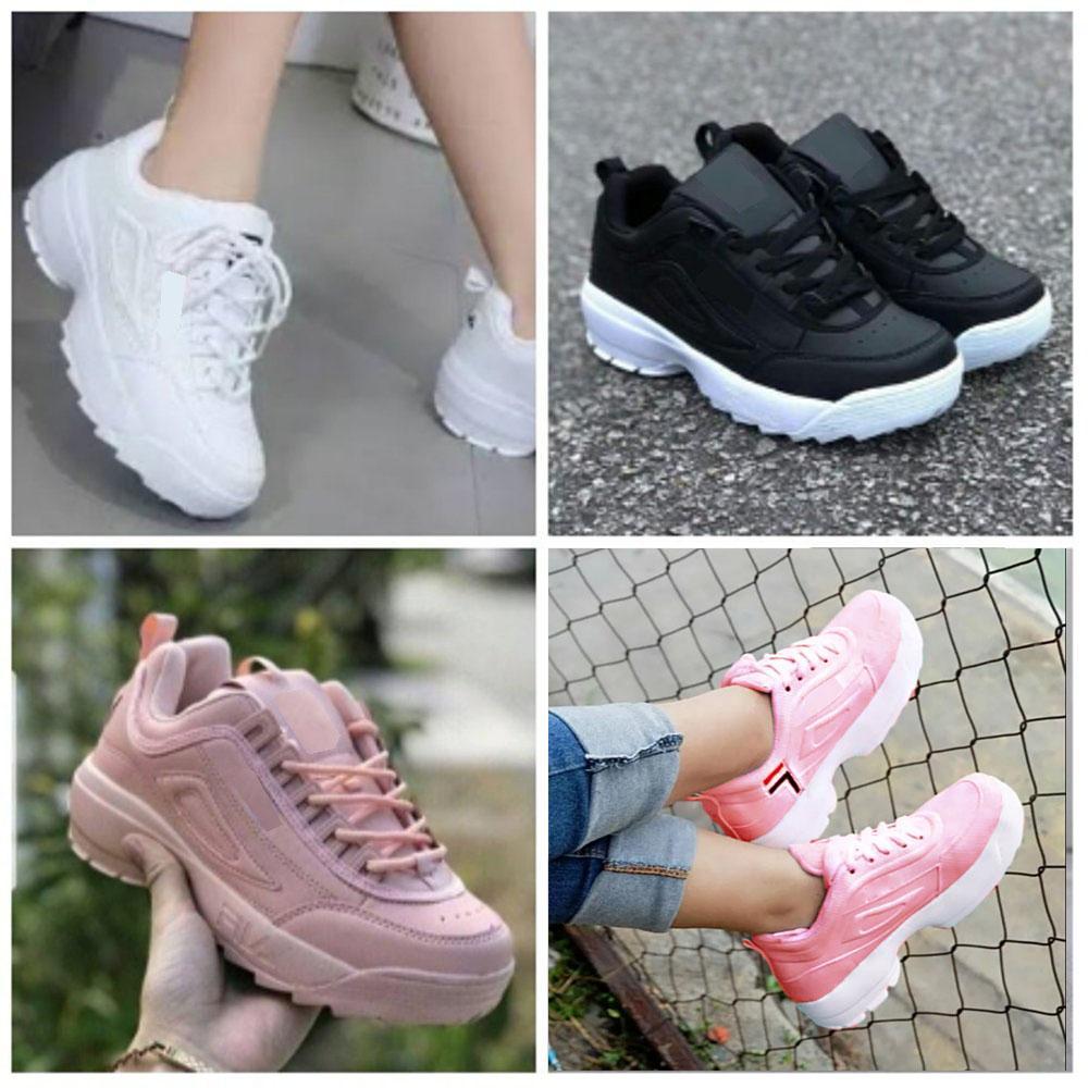 Dream Sepatu Kets Sneakers Kasual Wanita D-41 Model Disrupror - Multi