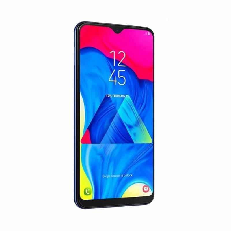 SAMSUNG GALAXY M10 SMARTPHONE - [16GB/2GB/4G LTE] BIG BATTERY 3400 MAH DUAL BACK KAMERA 13MP+5MP LED FLASH ULTRA WIDE GARANSI RESMI TAM