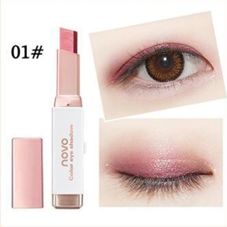 Novo Two Tone Color Eyeshadow Ombre Two Colors Eye Shadow Bar Stick with Box Original thumbnail