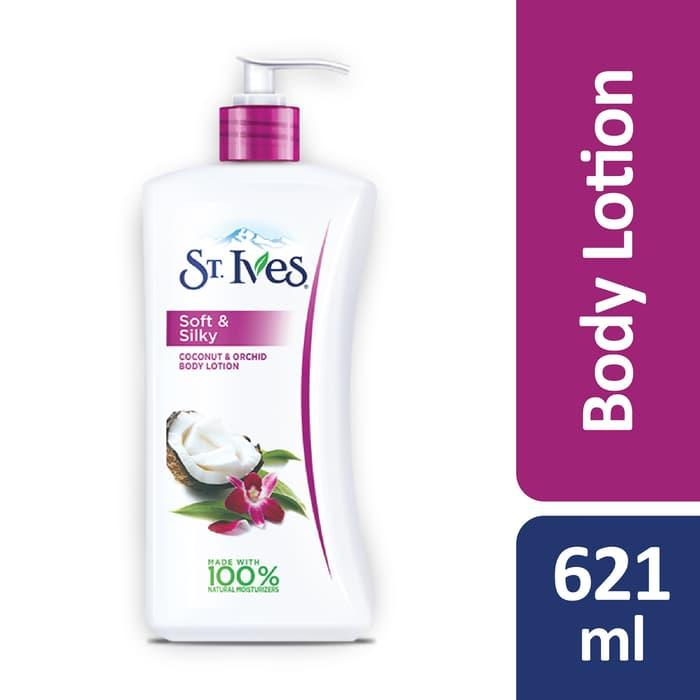St. Ives Soft & Silky Coconut & Orchid Body Lotion 621ml