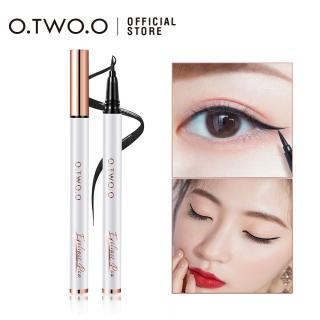 O.TWO.O Eyeliner Cair Smooth Long lasting Waterproof Hitam Tahan Air Dan Tahan Lama Kosmetik Mata thumbnail