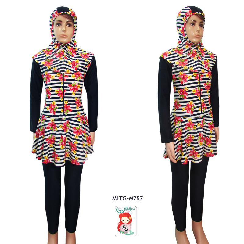 Rainy Collections Baju Renang Muslim Anak 6-10 Tahun Bahan Lycra Premium (Adem dan Licin)