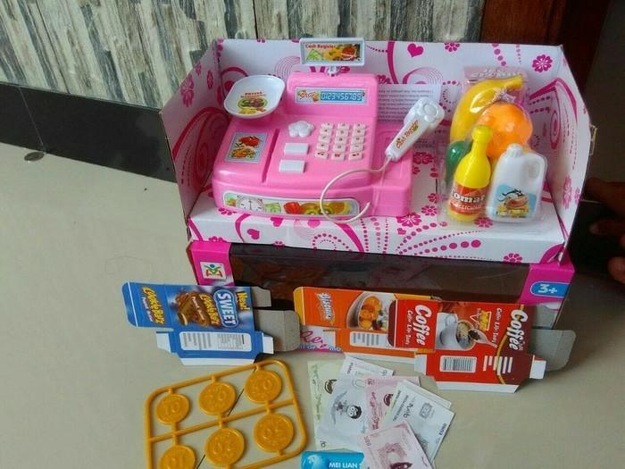 Mainan Anak Perempuan Mesin Kasir Kasiran Mini Cash Register Kado Mainan Anak Ls820a3 By Agenmainan.