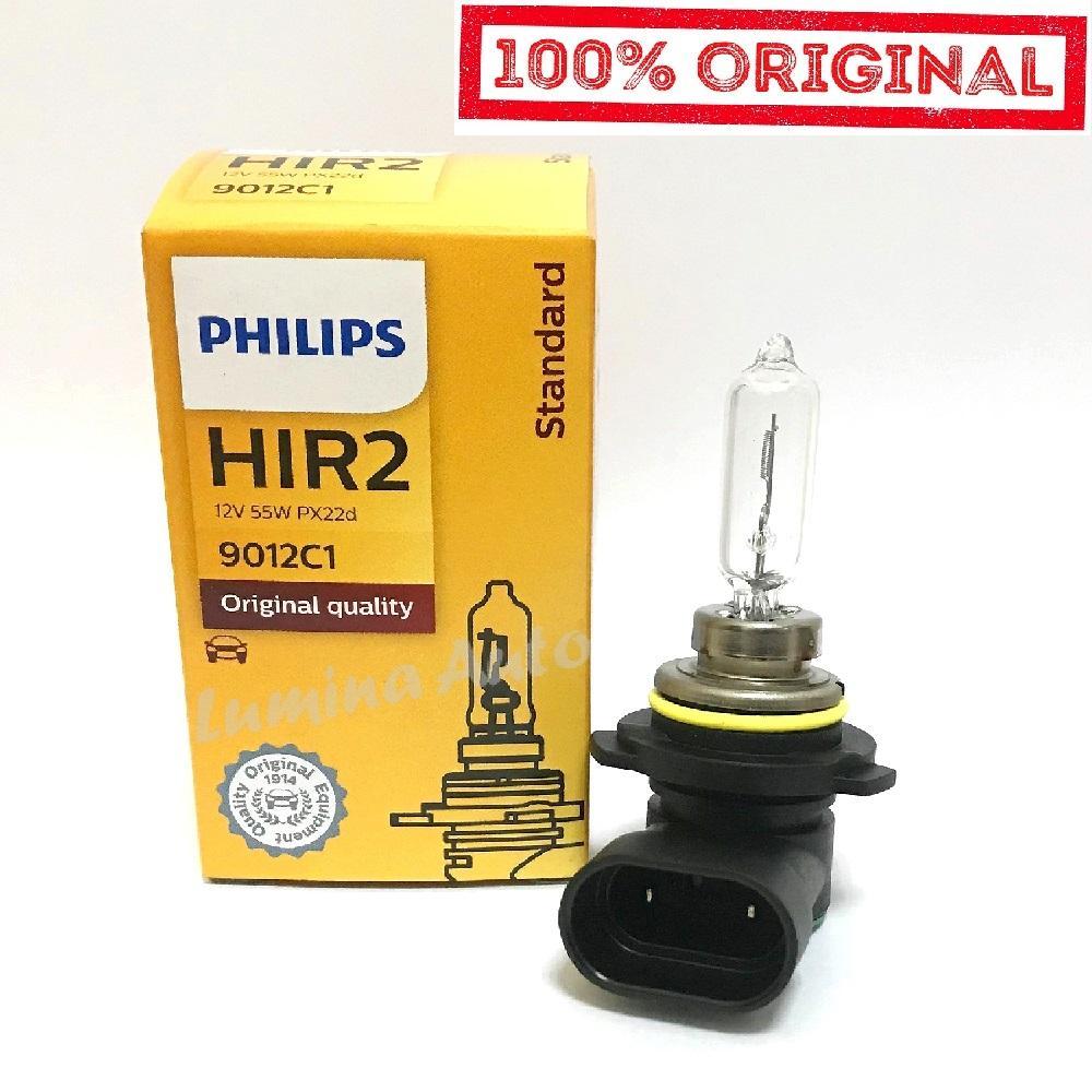 Philips HIR2 9012 55 Watt - Lampu Mobilio RS Brio RS New Yaris / HIR 2