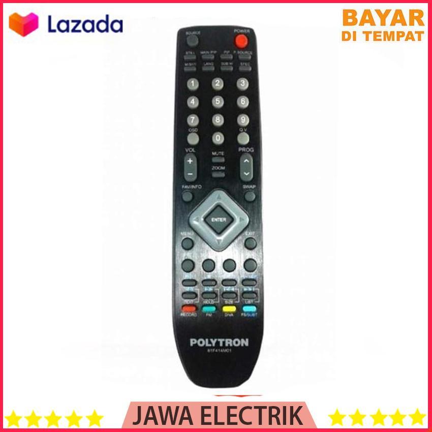 Polytron Remot LCD LED TV Tanpa Set - Hitam