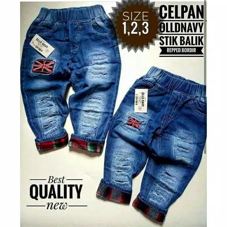Celana Jeans Anak Laki-Laki 1-9 Tahun