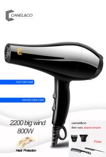 CANEL&CO BELI 1 GRATIS 4 Hair Dryer Salon Profesional 800W DCF03 Teknologi Ion Pengering Rambut 5 in 1 hairdryer hairdrayer thumbnail