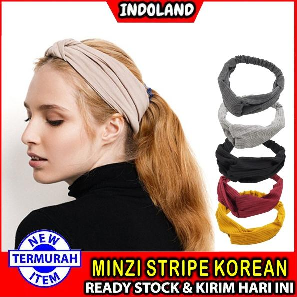 INDOLAND - READY STOCK BANDANA KOREA STYLE BENDO RAMBUT FASHION IMPORT MURAH BATAM