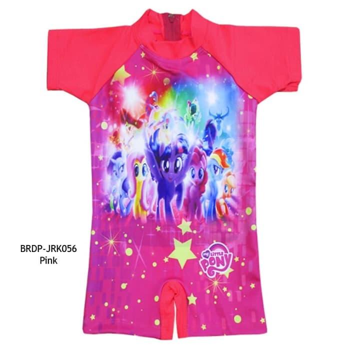 Baju Renang Diving Anak Karakter My Little Pony Untuk Usia 1-3tahun