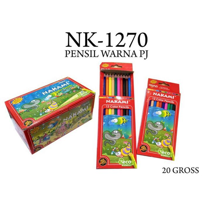 Pensil warna 12pis 1270 cocok utk hadiah goody bag dan pesta pernikaha