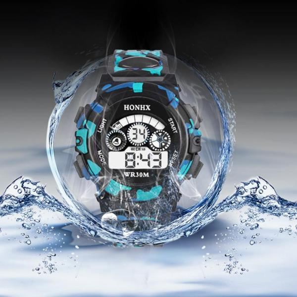 Jelishine Outdoor Multifunction Waterproof Boy Sports Electronic Children Watches Malaysia