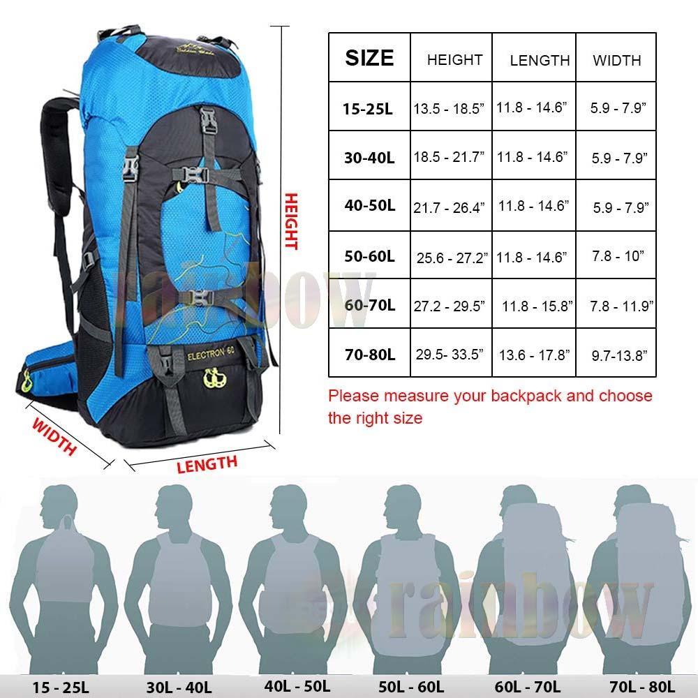 rainbow Waterproff Bag Cover / Jas Hujan Untuk Tas Ransel / Pelindung Tas Ransel Anti Air