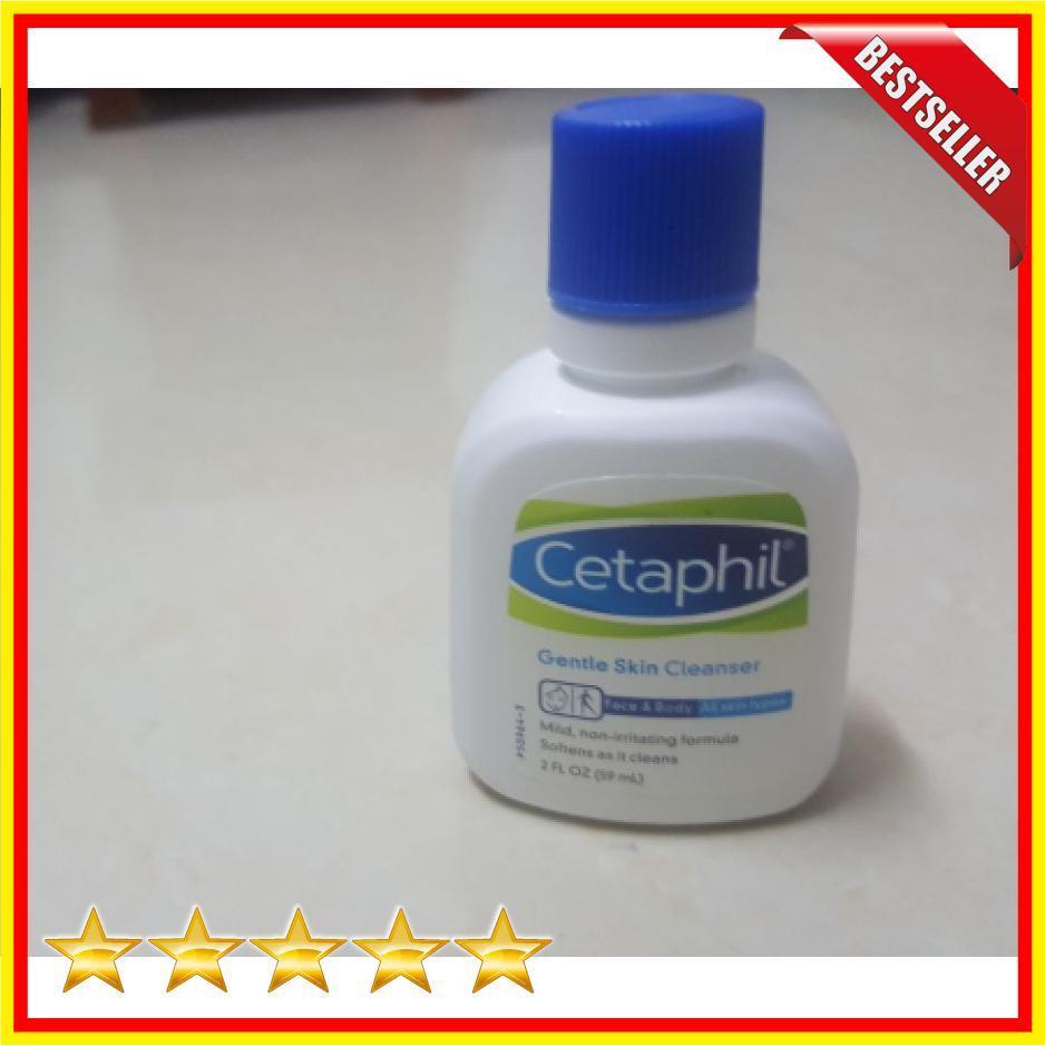 Cetaphil Gentle Skin Cleanser - 59ml - Produk Cleanser, Kulit Halus Seperti Kapas - BX50524
