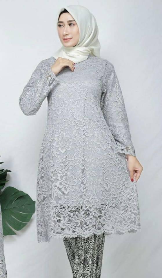 Atasan Kebaya Modern Style Modis Cantik Tunik Terbaru Kebaya Modern Model Tunik Kebaya Pesta Baju Kebaya Muslimah